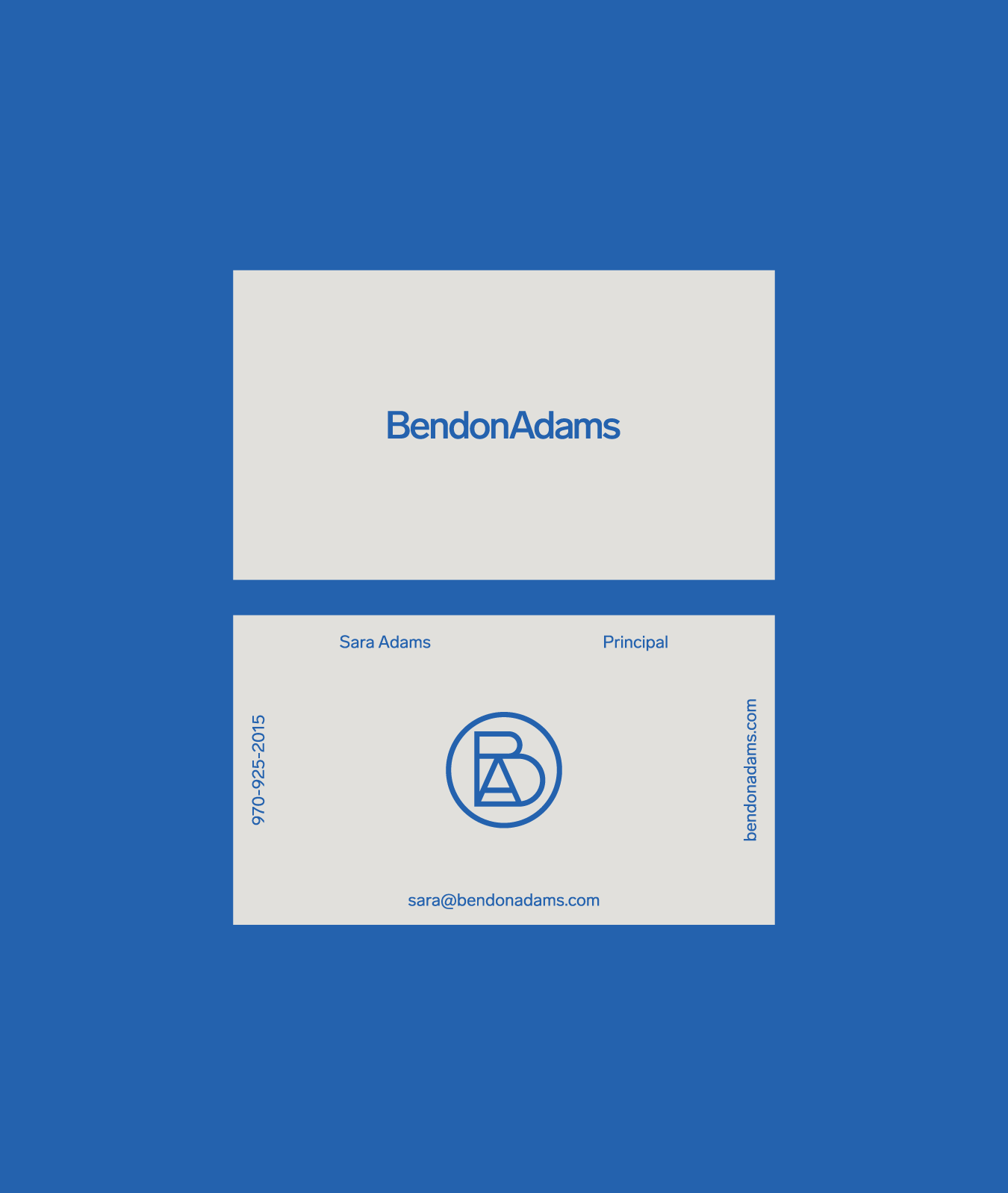 BendonAdams Business Card