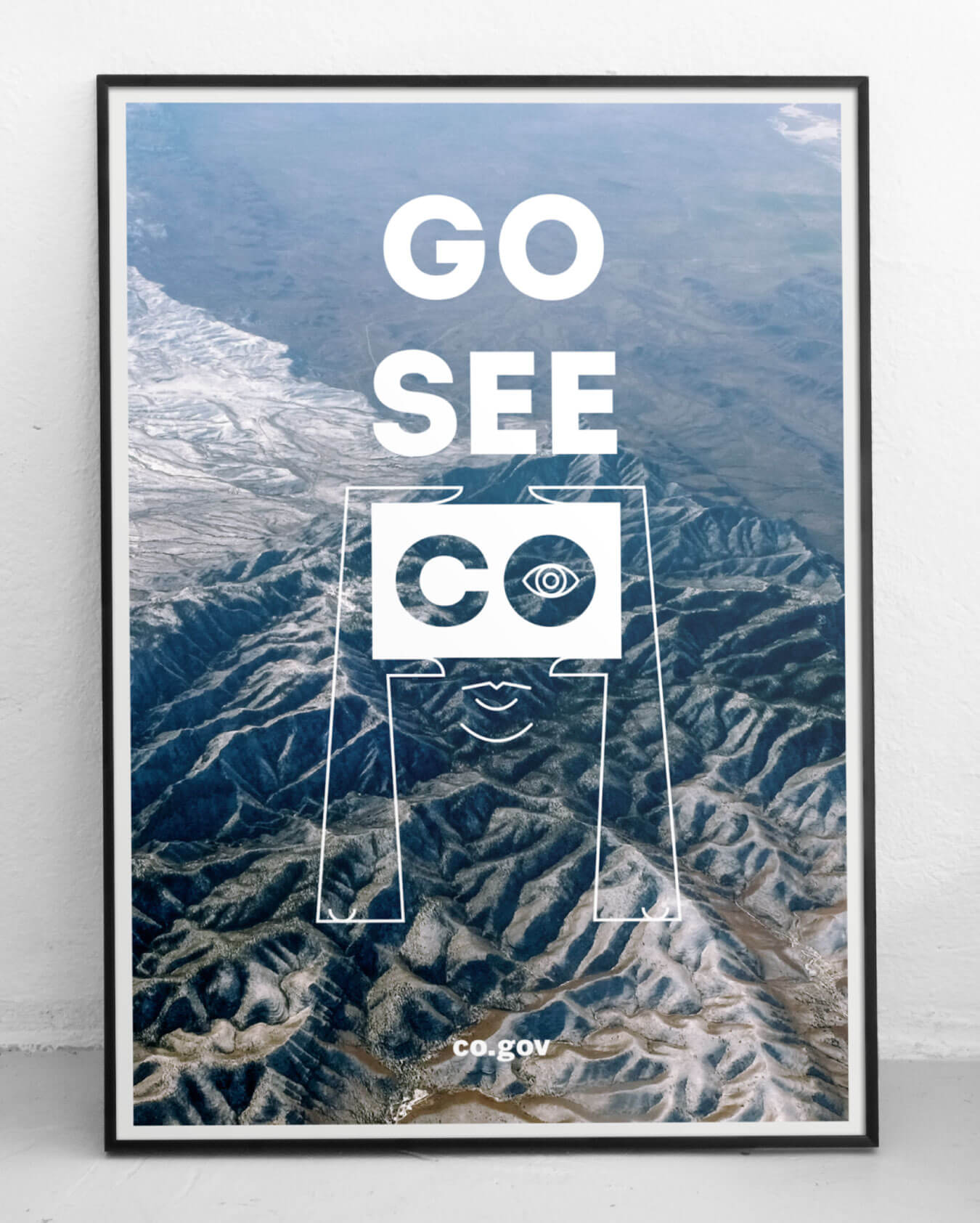 Brand Colorado Go See CO poster