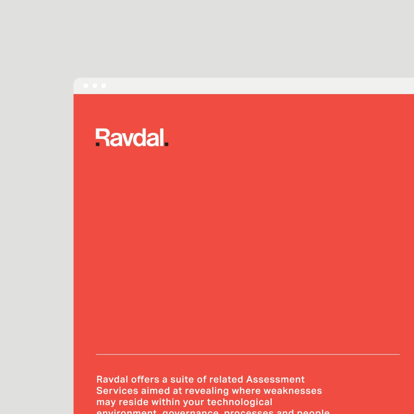 Ravdal website