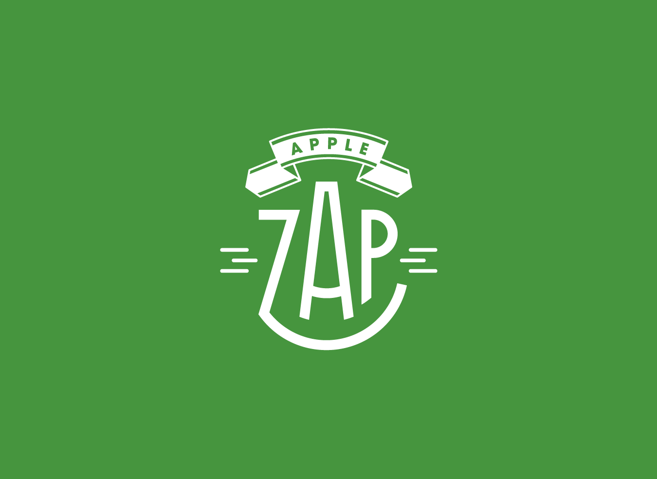 Apple Zap logo